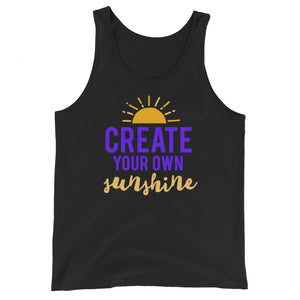 Create Your Own Sunshine Tank Top - Tee Gurls