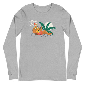 Summer Santa Long Sleeve Tee