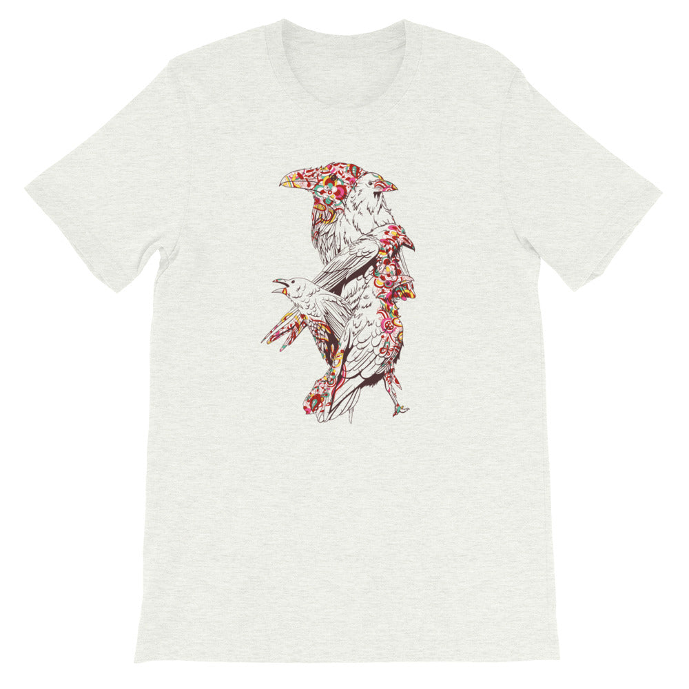 Colorful Crows T-Shirt - Tee Gurls
