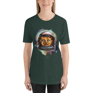 Galactic Kitty T-Shirt - Tee Gurls