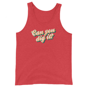Can You Dig It? Tank Top - Tee Gurls
