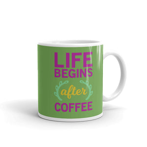 Life Begins After Coffee Mug - Tee Gurls