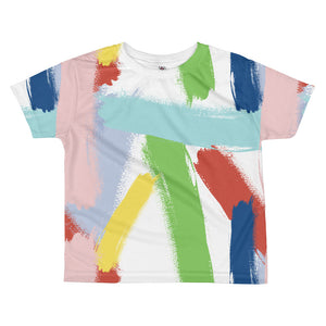 Abstract All-Over Print Toddler Tee - Tee Gurls
