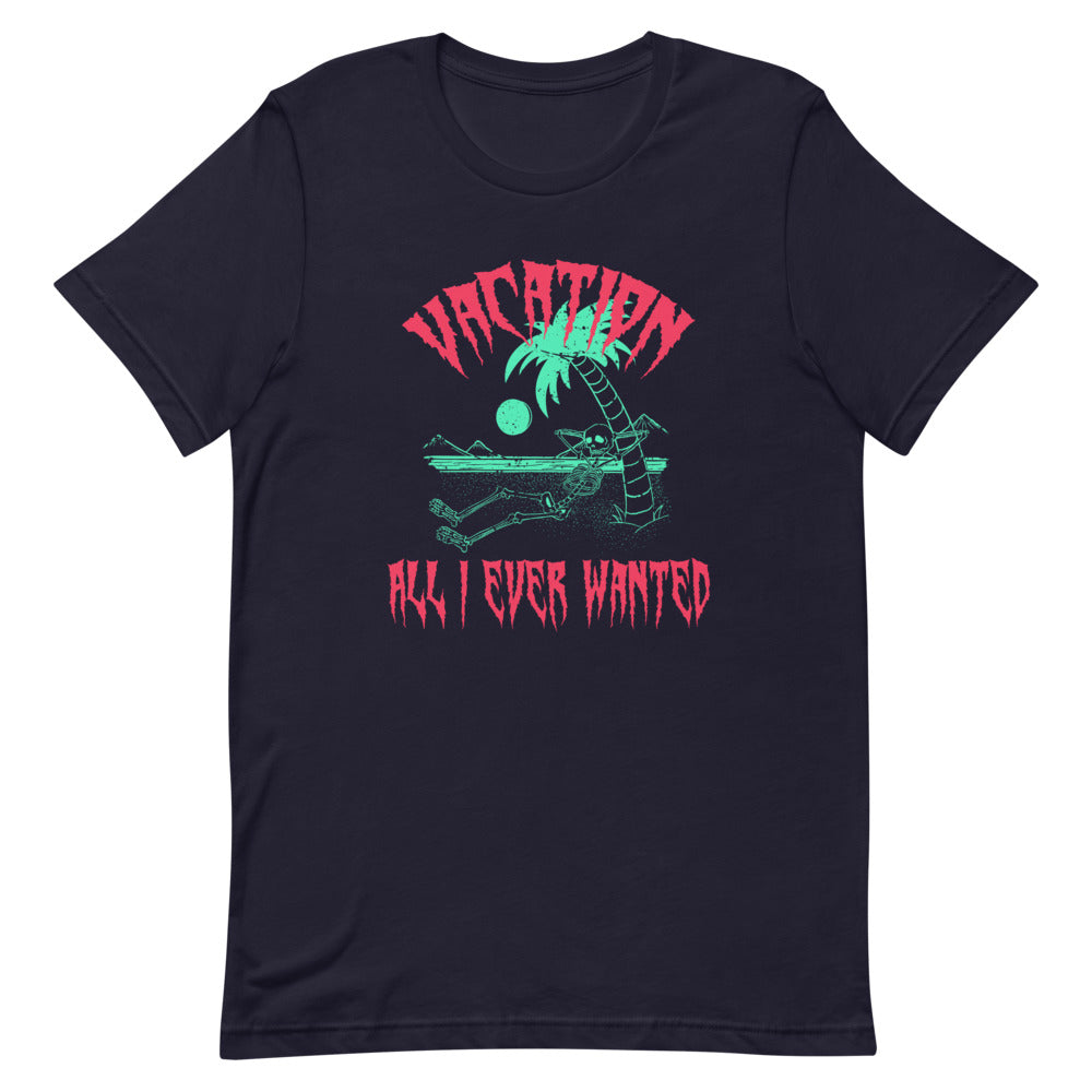 Vacation T-Shirt - Tee Gurls