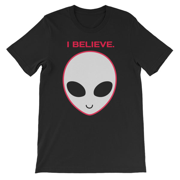 I Believe In Aliens T-Shirt - Tee Gurls