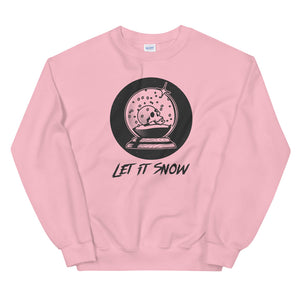Let It Snow Sweatshirt - Tee Gurls