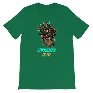 Christmas Is Lit T-Shirt - Tee Gurls