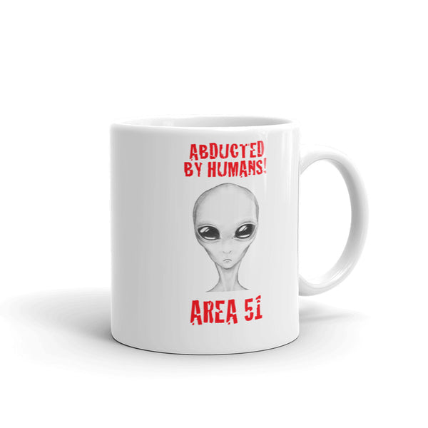 Abducted By Humans - Alien Mug - Tee Gurls