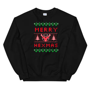 Merry Hexmas Sweatshirt - Tee Gurls