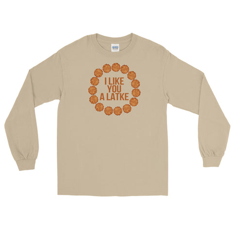 I Like You A Latke Long Sleeve - Tee Gurls