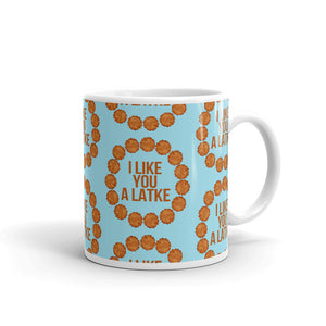 I Like You A Latke Mug - Tee Gurls