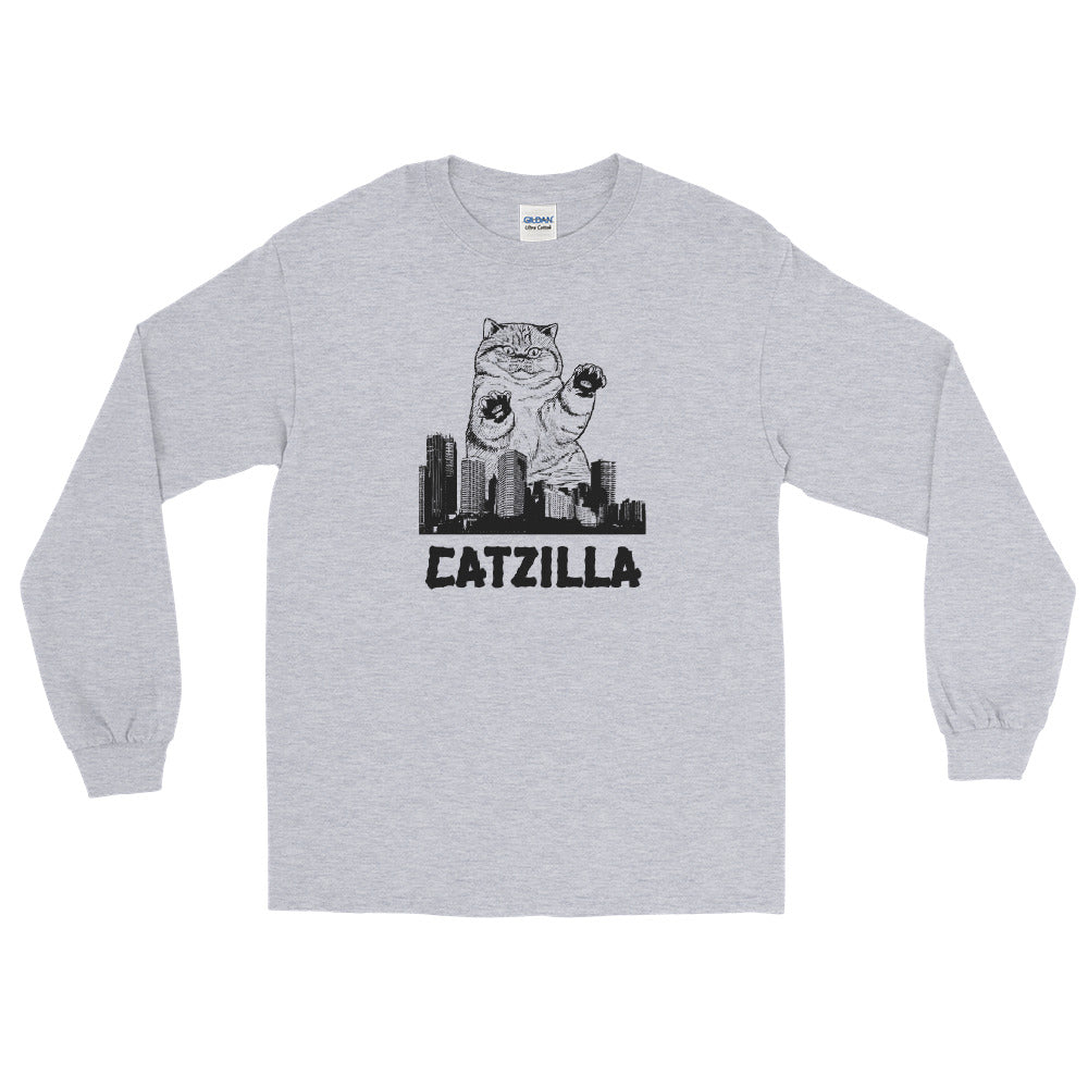 Catzilla Long Sleeve - Tee Gurls