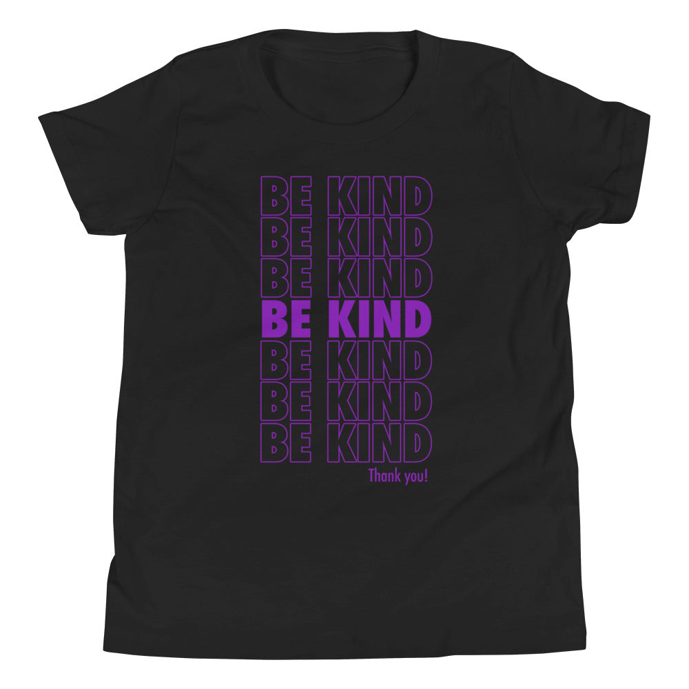 Be Kind Youth Short Sleeve T-Shirt - Tee Gurls