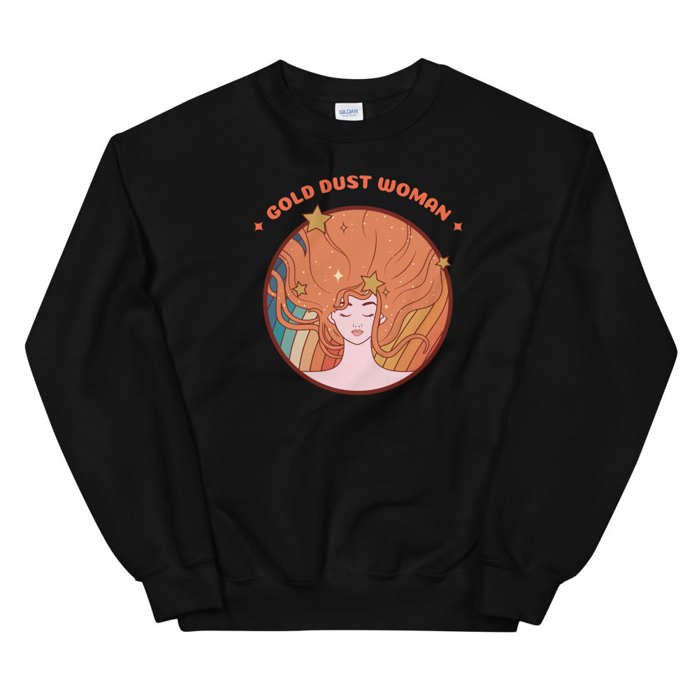 Gold Dust Woman Sweatshirt - Tee Gurls