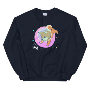 Space Pup II Sweatshirt - Tee Gurls
