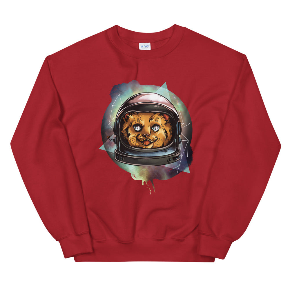 Galactic Kitty Sweatshirt - Tee Gurls
