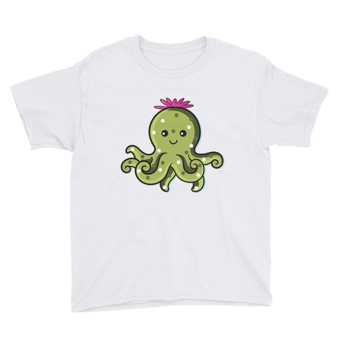Cactopus Youth T-Shirt - Tee Gurls