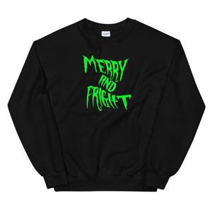 Merry And Fright Sweatshirt - Tee Gurls