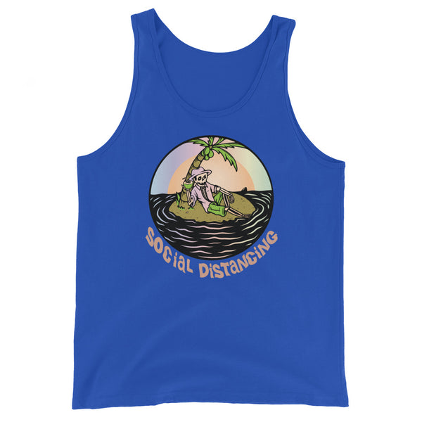 Social Distancing || Tank Top - Tee Gurls