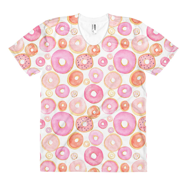 Donut Ladies All Over Print Shirt - Tee Gurls