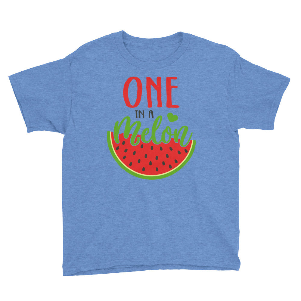One In A Melon Youth Short Sleeve T-Shirt - Tee Gurls