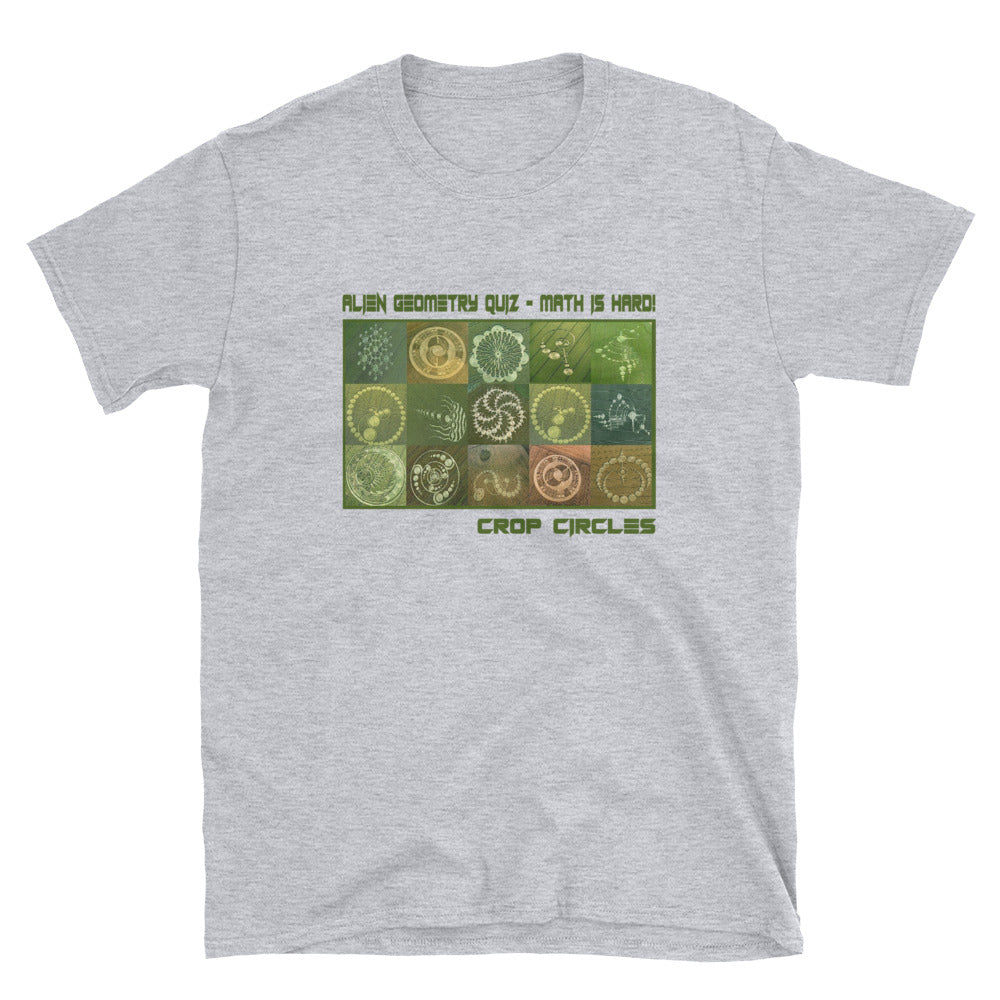 Crop Circle Math T-Shirt - Tee Gurls