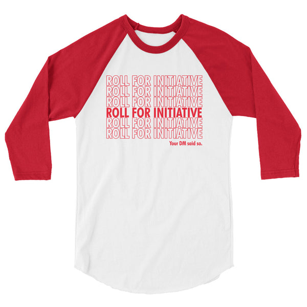 Roll For Initiative Raglan - Tee Gurls