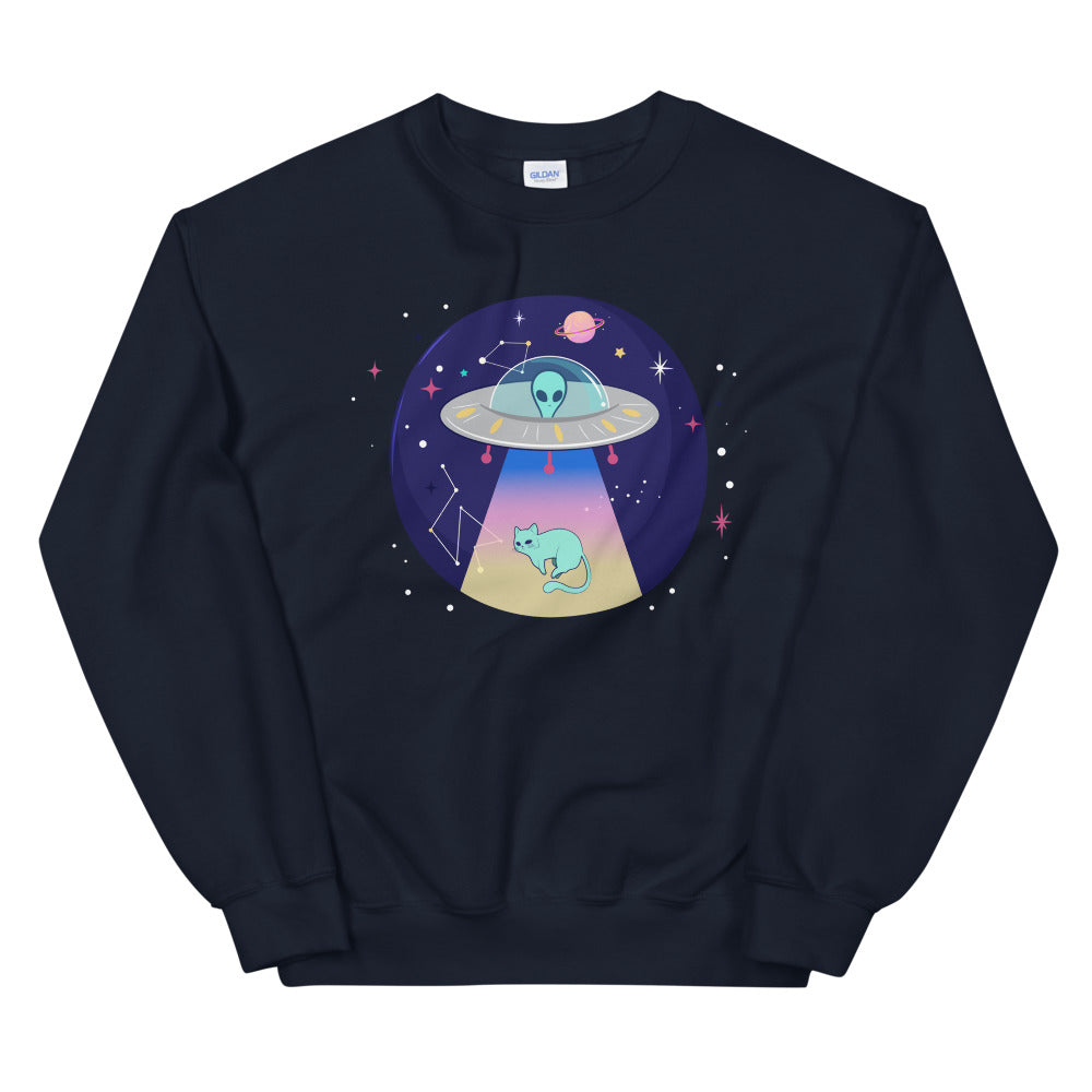 Beam Me Up Sweatshirt - Tee Gurls
