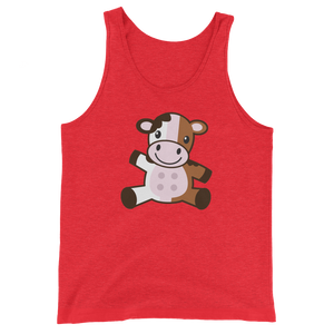 Neapolitan Cow Tank Top - Tee Gurls