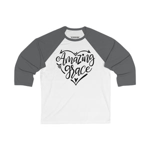 Amazing Grace Baseball Tee