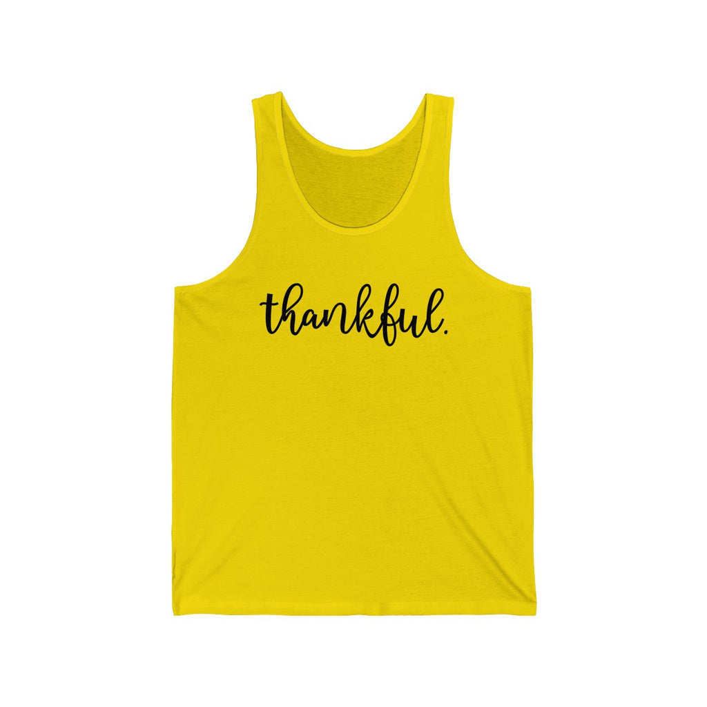 Thankful Tank Top