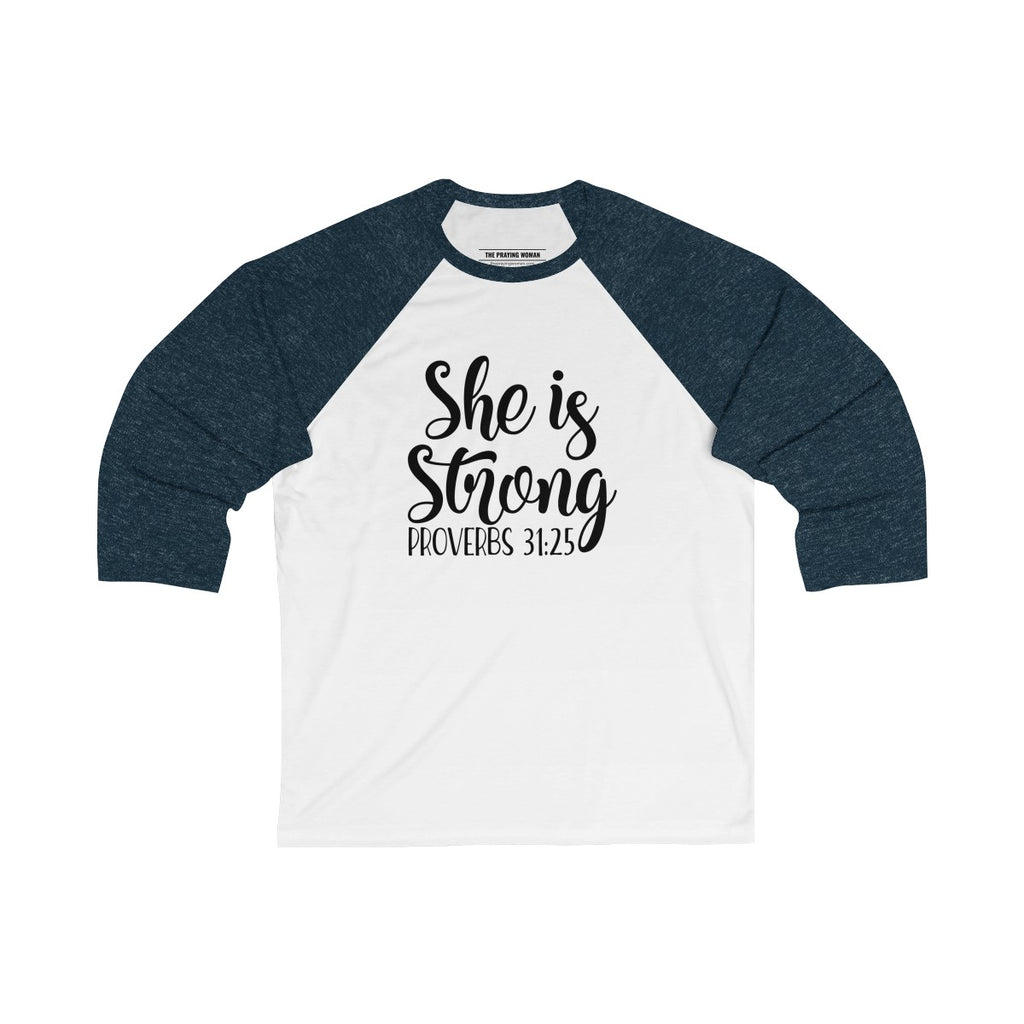 She is Strong Baseball Tee