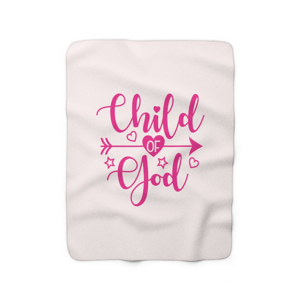 Child of God Fleece Blanket