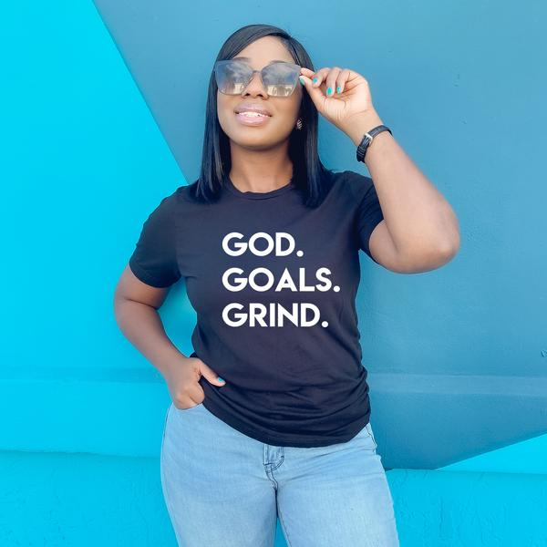 God Goals Grind Short Sleeve Tee