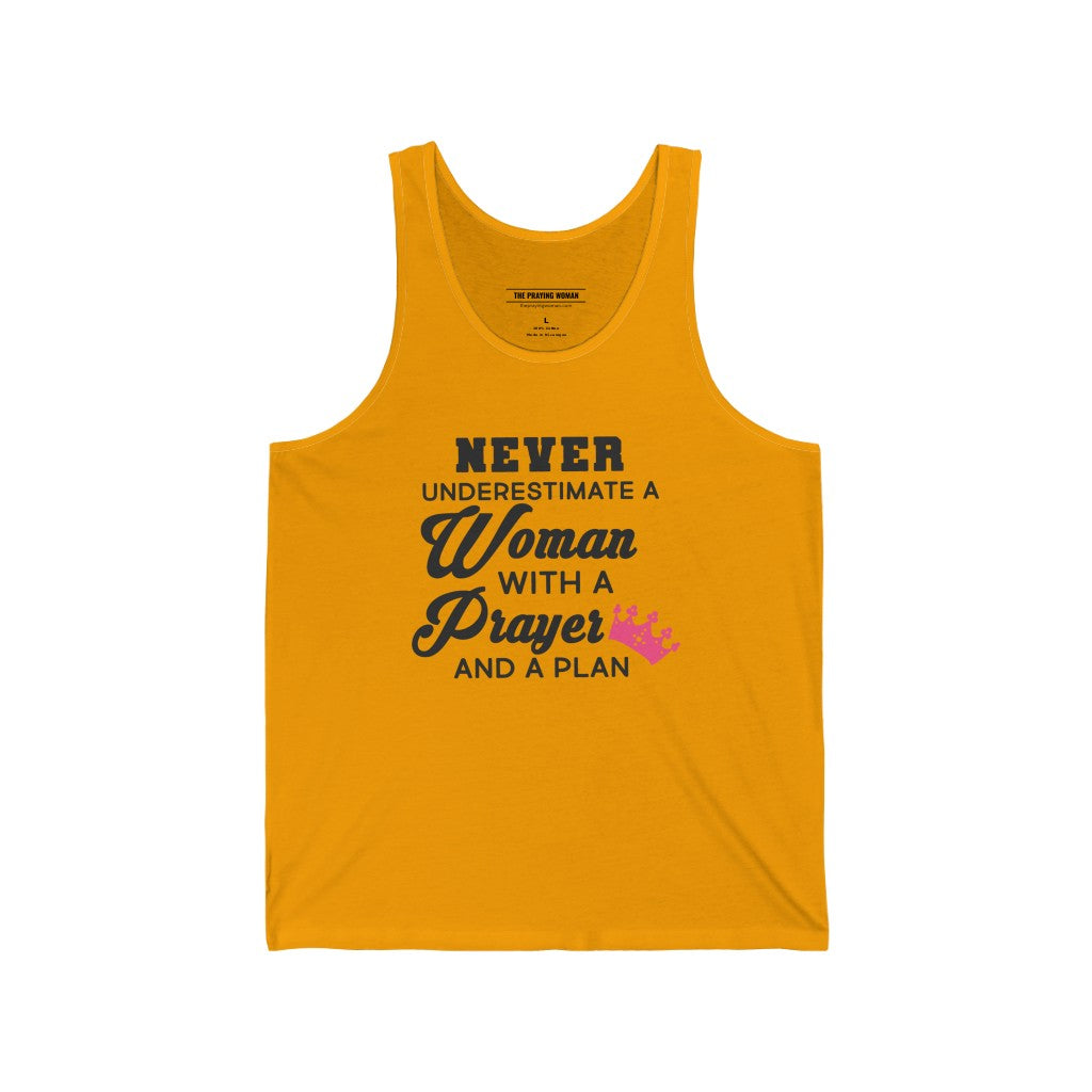 A Woman With a Prayer Tank Top