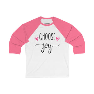 Choose Joy Baseball Tee