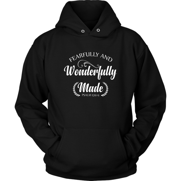 Fearfully and Wonderfully Made Hoodie - The Praying Woman
