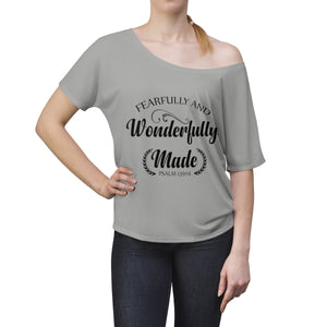 Fearfully and Wonderfully Made Ladies Slouchy top