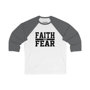 Faith Over Fear Baseball Tee