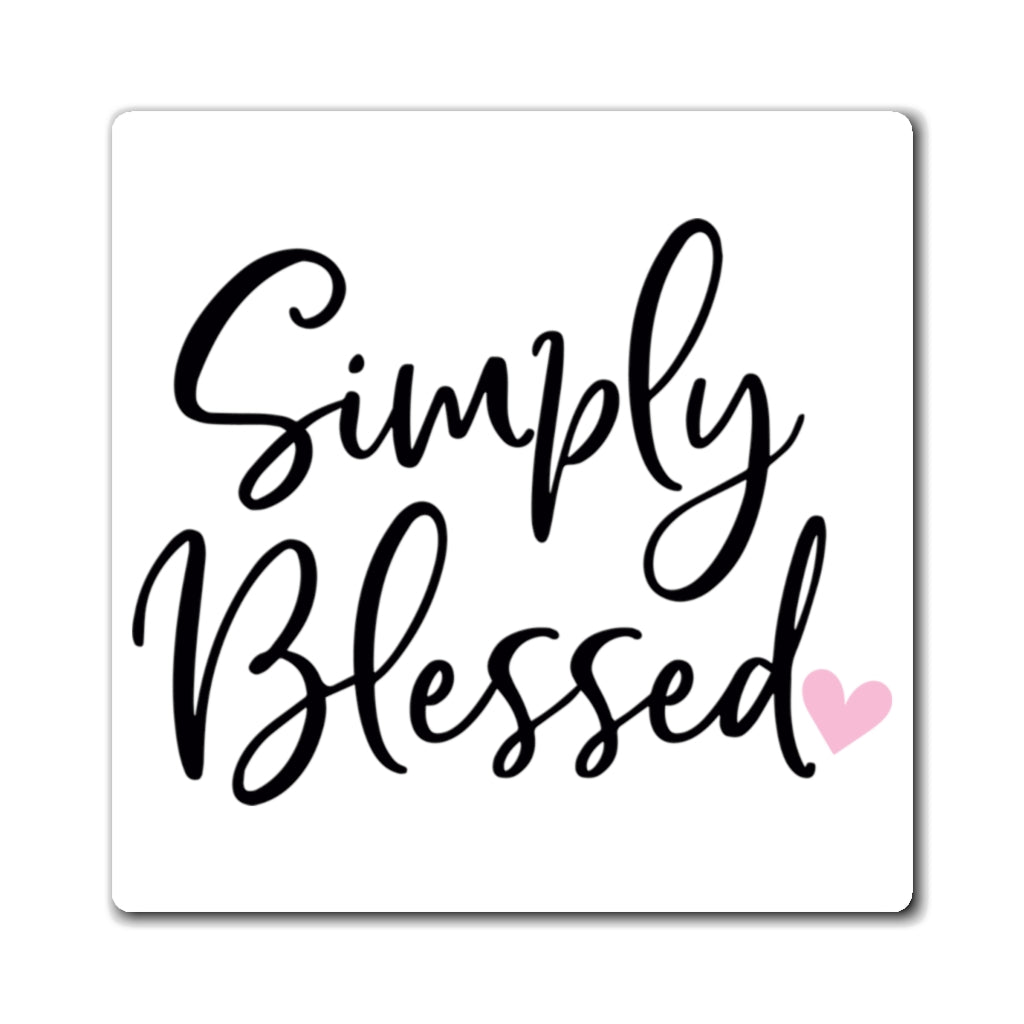 Simply Blessed Magnet