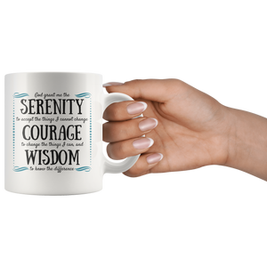 Serenity Prayer Mug - The Praying Woman