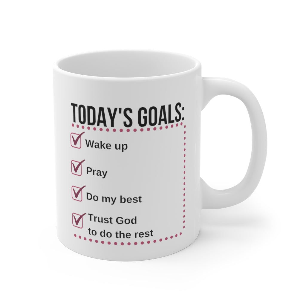 Today's Goals Mug