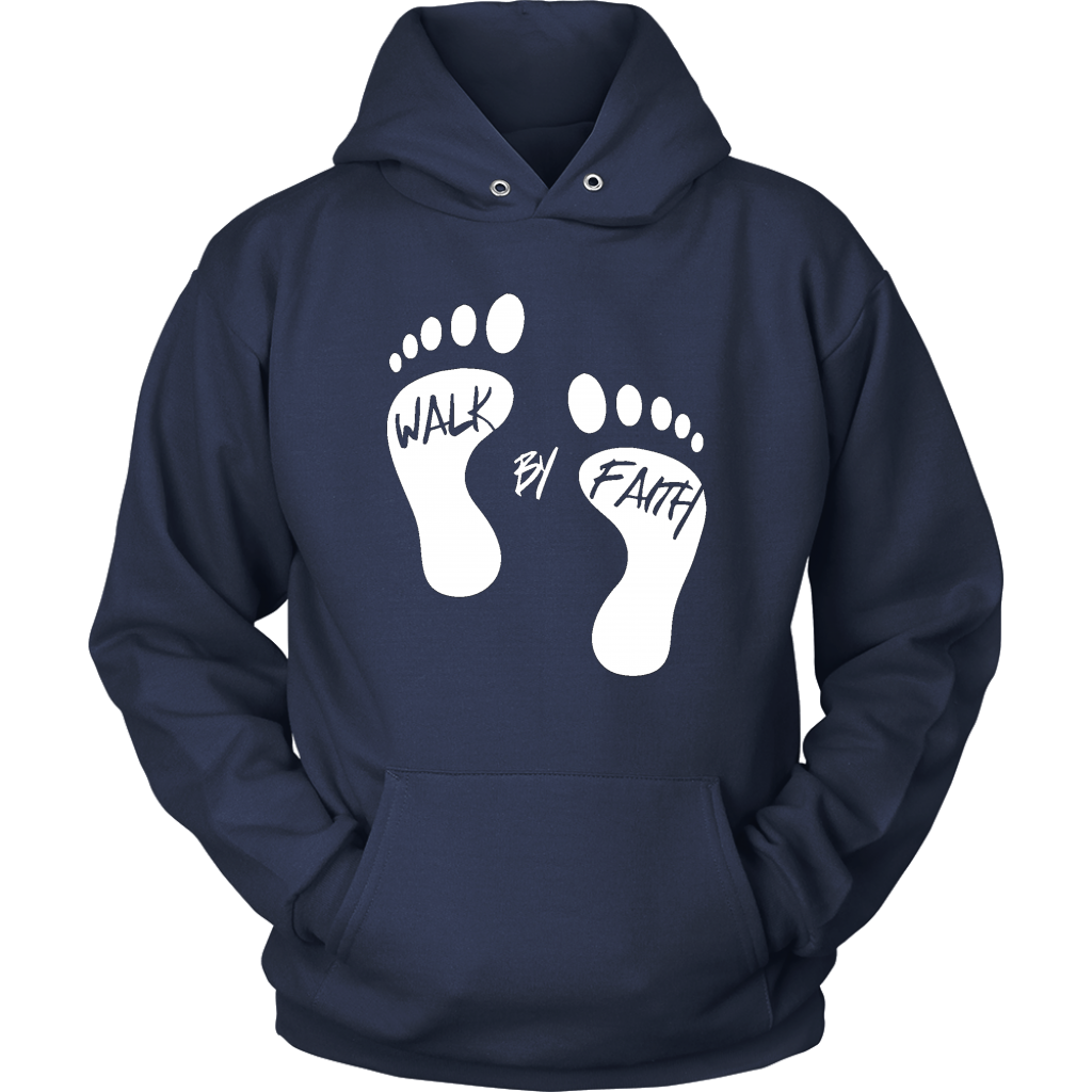 Walk By Faith Hoodie - The Praying Woman