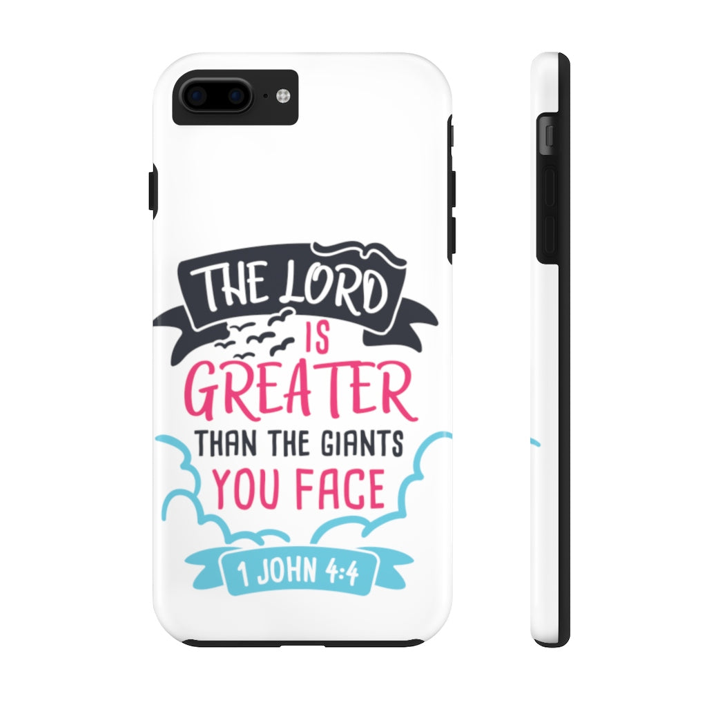 The Lord is Greater... Case