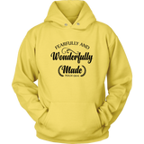 Fearfully and Wonderfully Made Hoodie - Pretty Praise