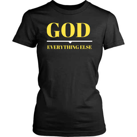 God Over Everything T-Shirt (Ladies)