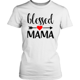 Blessed Mama T-Shirt - The Praying Woman