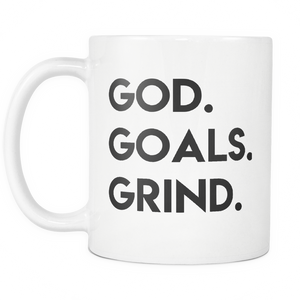 God Goals Grind Mug - The Praying Woman