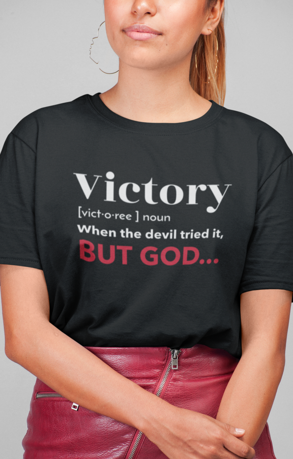 Christian Women T-Shirts | Christian Apparel - Praying Woman