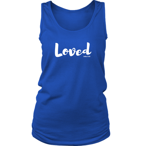 Loved Tank Top - Praying Woman Boutiques
